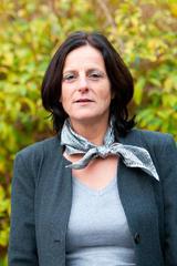 Photo officielle de Sylvie Gaté, première adjointe à la Mairie de Saint-Pair-sur-Mer, en charge de l'action sociale et de la solidarité